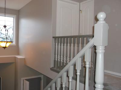 Re-Finish Railing and Spindles
